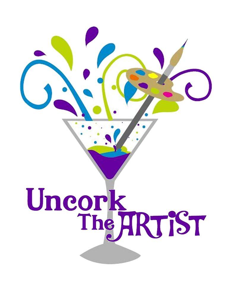 Uncork the Artist logo