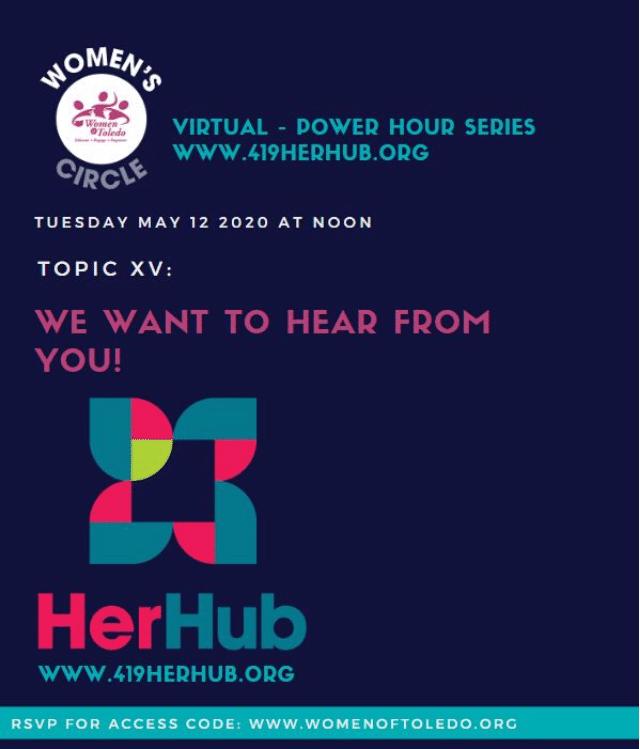 Virtual Power Hour Series 15: HerHub