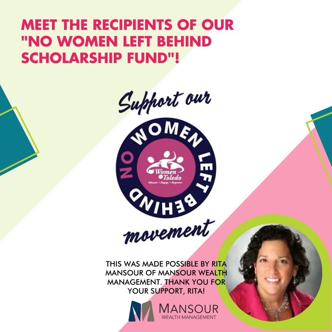 No Women Left Behind Scholarship