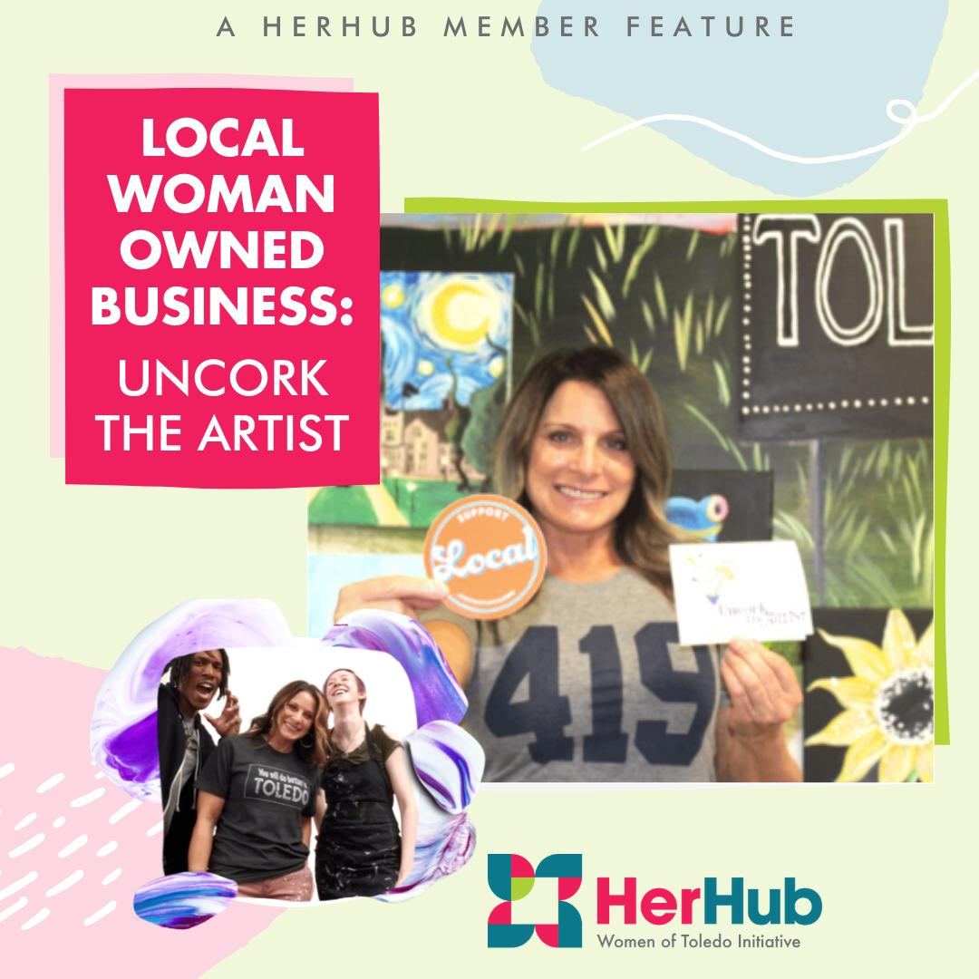 HerHub Spotlight – Uncork the Artist