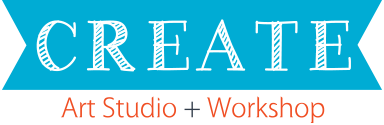 Create: Art Studio + Workshop logo