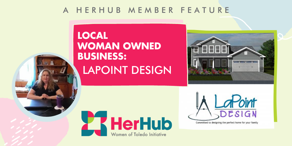 Lori Lapoint, owner of LaPoint Design, a residential design company in Toledo Ohio