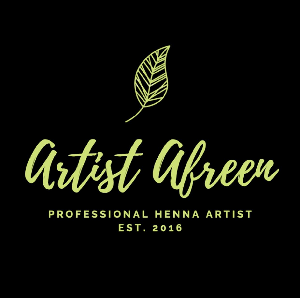 Artist Afreen logo