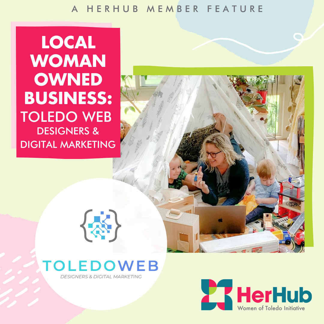 HerHub Member Spotlight – Stephanie Solheim, owner of Toledo Web Designers & Digital Marketing
