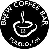 BREW coffee bar logo