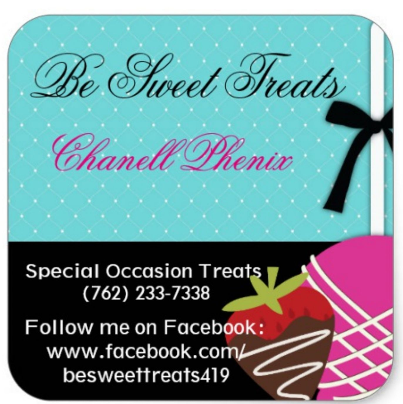 Be Sweet Treats logo