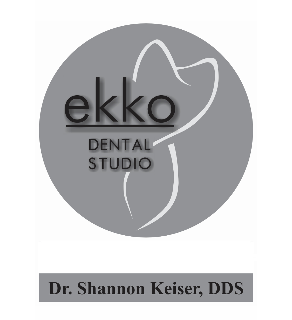ekko DENTAL STUDIO logo