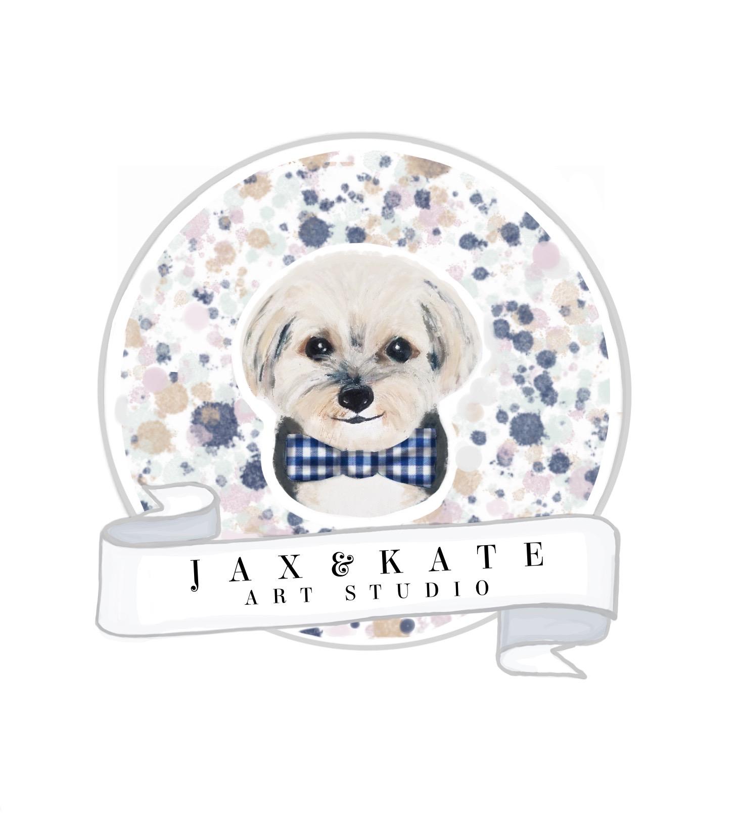 Jax and Kate Art Studio logo
