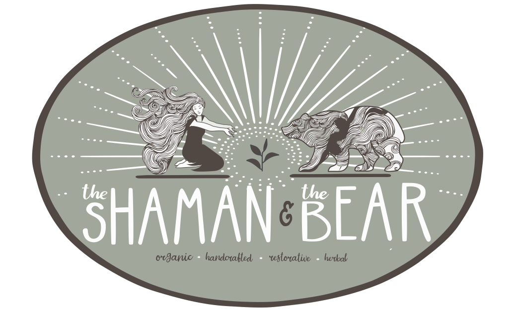The Shaman and the Bear logo