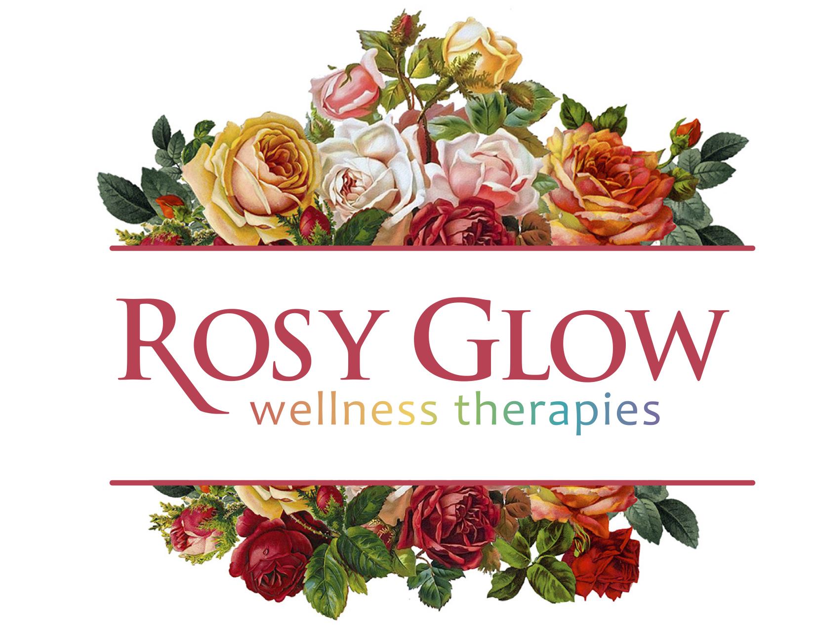 Rosy Glow Wellness Therapies logo